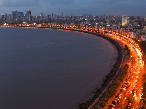 Marine Drive - Mumbai - Maharashtra