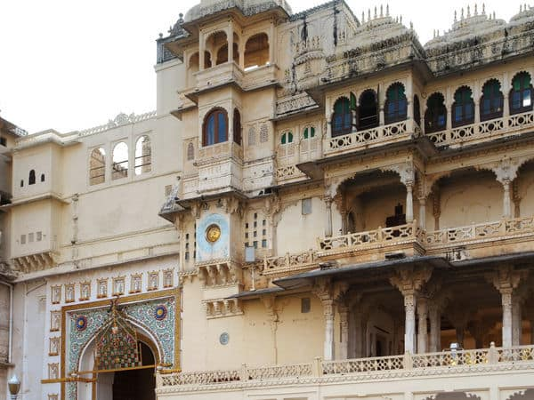 The City Palace in Udaipur - Udaipur - Rajasthan