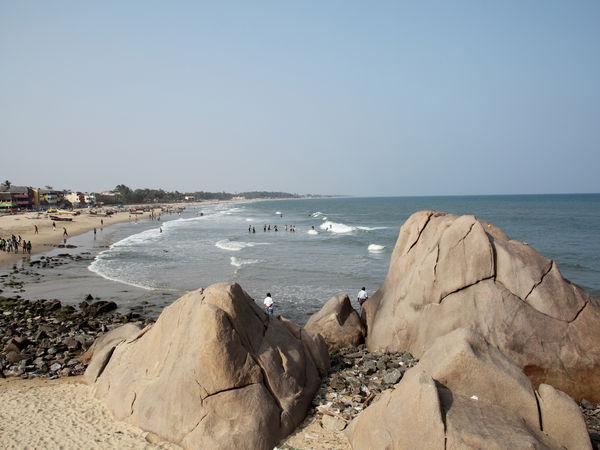 Mahabalipuram Beach - Chennai - Tamil-Nadu