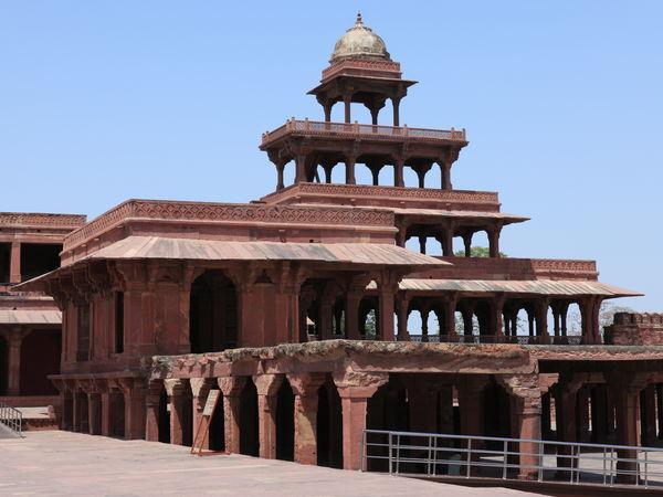 Fatehpur Sikri Palace - Agra - Uttar-Pradesh