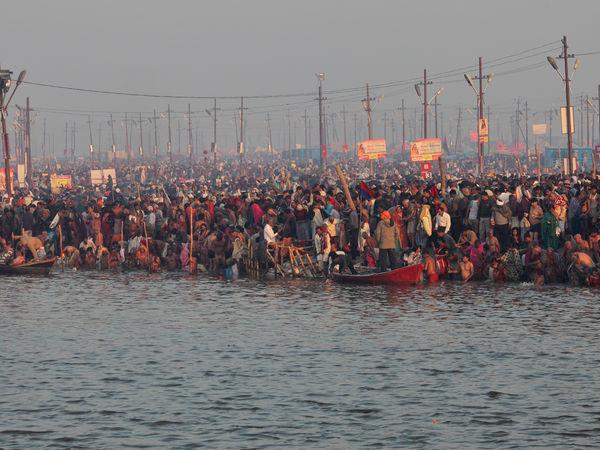 Triveni Sangam in Allahabad - Allahabad - Uttar-Pradesh