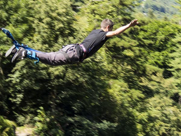 Places in India for Extreme Sports: Best Places for Bungee Jumping, Skydiving and Paragliding