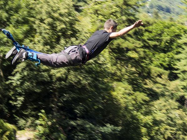 Jumping - Rishikesh - Uttarakhand