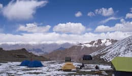 Camping at Zanskar