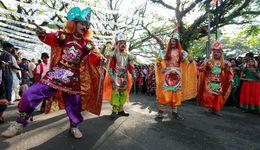 Cochin Carnival Festival in Cochin