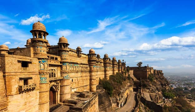 Image result for gwalior fort images in hd