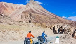 Mountain biking in Leh