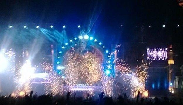 Sunburn festival in Goa