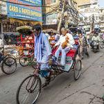 A cycle rickshaw in Delhi - Delhi