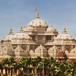 The famous Akshardham temple in Delhi - Delhi