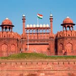 The historic Red fort in Delhi - Delhi