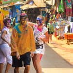 Holi in Arambol - Goa