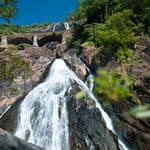 The famous Dudhsagar waterfall in Goa - Goa