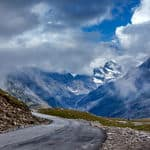 The beautiful view from Rohtang pass - Rohtang-Pass - Himachal-Pradesh