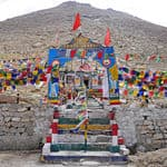 Chang La pass in Leh - Chang-La - Jammu-and-Kashmir