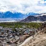 A top view of Ladakh in Jammu and Kashmir - Ladakh - Jammu-and-Kashmir