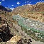 river flowing thorugh Ladakh - Ladakh - Jammu-and-Kashmir