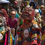 Masked people at Ladakh festival - Leh - Jammu-and-Kashmir