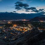 Leh city at night - Leh - Jammu-and-Kashmir