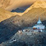 Shanti Stupa - Leh - Jammu-and-Kashmir