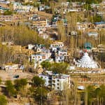 The city of Leh in Jammu and Kashmir - Leh - Jammu-and-Kashmir