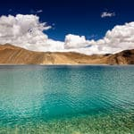 The beautiful Pangong lake - Pangong-Lake - Jammu-and-Kashmir