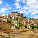 The famous Thiksey monastery in Ladakh - Thiksey-Monastery - Jammu-and-Kashmir