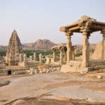 Virupaksha Temple UNESCO World Heritage Site listed as the Group of Monuments at Hampi - Hampi - Karnataka