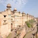 The Gwalior fort at Gwalior in Madhya Pradesh - Gwalior - Madhya-Pradesh