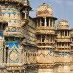 The intrinsic architecture of the Gwalior fort - Gwalior - MadhyaPradesh