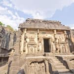 Kailasa temple in Ellora