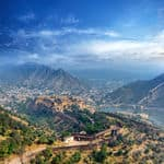 Jaipur from Amer fort - Jaipur - Rajasthan