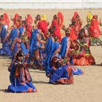 Dancers in the Pushkar fair - Pushkar - Rajasthan