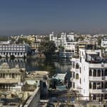 Lake Pichola and the old city Udaipur - Udaipur - Rajasthan