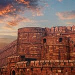 The famous Agra Fort - Agra - Uttar-Pradesh