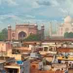 View of the city of Agra - Agra - Uttar-Pradesh