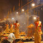 Ganga Aarti on the Dashashwamedh Ghat at Varanasi - Varanasi - Uttar-Pradesh