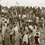 Crowd at Kumbh Mela - Allahabad - Uttar-Pradhesh-