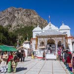 Beautiful Gangotri in Uttarakhand