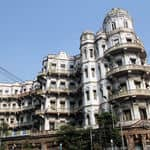 British Esplanade Mansions in Kolkata - Kolkata - West-Bengal