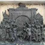 Bronze Memorial in the Victoria Memorial in Kolkata - Kolkata - West-Bengal