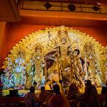 The famous Durga Pooja festival in Kolkata - Kolkata - West-Bengal