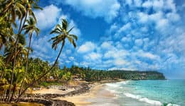 Beaches in South India