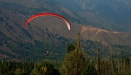 Paragliding at Dalhousie