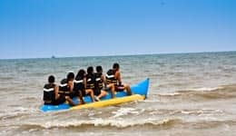 Banana Boat Ride in Gokarna