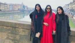 Sridevi, Jhanvi and Khushi raise the fashion quotient on their family vacation in Italy