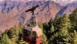 Cable car ride in Chamoli