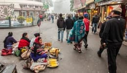 Shopping in Darjeeling