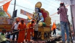 Ram Navami 2017 celebration in Hyderabad