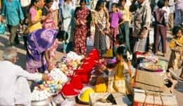 Shopping at Hampi Bazaar